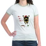 Smooth Collie Santa Jr. Ringer T-Shirt