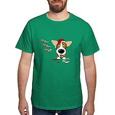 Corgi Santa's Cookies T-Shirt
