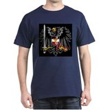 German Eagle  Black T-Shirt
