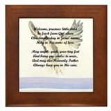 Baptism Framed Tile