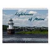 Scenic Maine Lighthouse Calendar