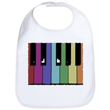 Piano Keys Bib