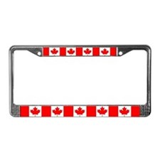 Maple Leaf License Plate Frame
