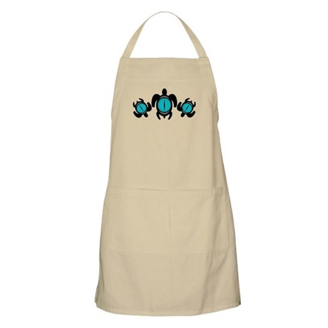 Three Cat's Eye Turtles Apron
