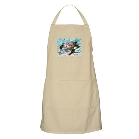 Swimming Sea Turtle Apron