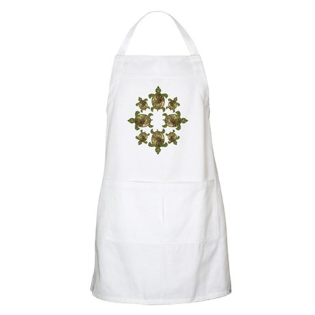 Garden Turtles Apron