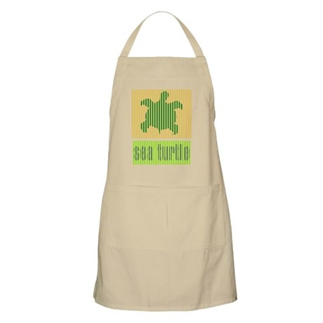 Bar Code Turtle Apron