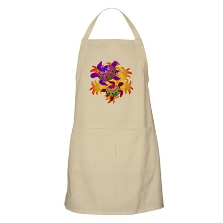 Flaming Turtles Apron