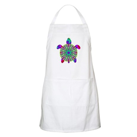 Colorful Sea Turtle Apron