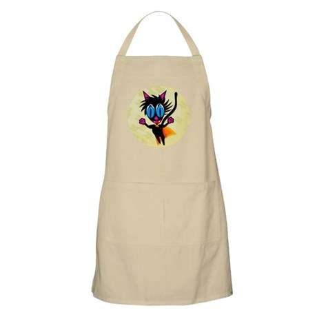 Black Cat...Away! Apron