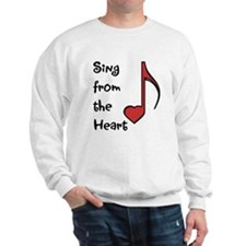 Sing from the Heart Sweatshirt