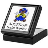 Adoption SW Bear Angel Keepsake Box