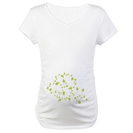 Growth Vines Maternity T-Shirt