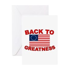 Back to Greatness Greeting Card