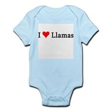 I Love Llamas Infant Creeper