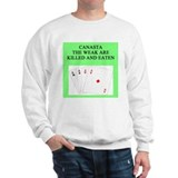 canasta player Sweatshirt