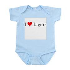 I Love Ligers Infant Creeper