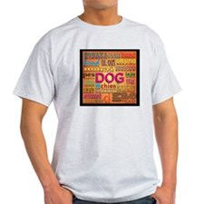 DOG in every language T-Shirt