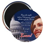 "Nancy Pelosi Holiday 2.25"" Magnet (10 pack)"