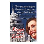 Nancy Pelosi Holiday Postcards (Package of 8)