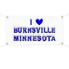 I Love Burnsville Winter Banner