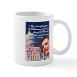 Nancy Pelosi Christmas Mug