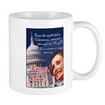 Nancy Pelosi Christmas Mug