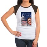 Nancy Pelosi Christmas Women's Cap Sleeve T-Shirt
