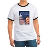 Nancy Pelosi Christmas Ringer T