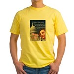 Nancy Pelosi Christmas Yellow T-Shirt
