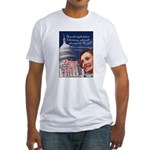 Nancy Pelosi Christmas Fitted T-Shirt