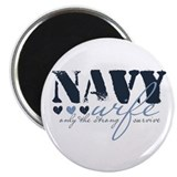 Navy Wife ... [blue] Magnet