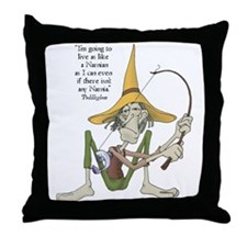 Puddleglum Throw Pillow
