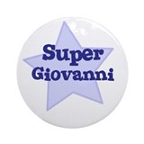 Super Giovanni Ornament (Round)