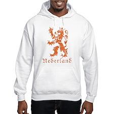 Netherlands - Lion - Orange Hoodie