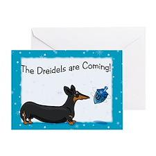 Bt Hanukkah Dog Greeting Card