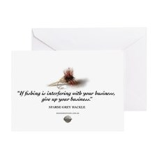 Give up your business Greeting Card