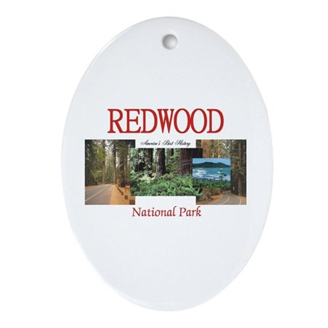 ABH Redwood National Park Ornament (Oval)