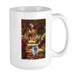 The Path - Keeshond (F) Large Mug