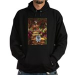 The Path - Keeshond (F) Hoodie (dark)