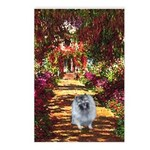 The Path - Keeshond (F) Postcards (Package of 8)
