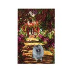 The Path - Keeshond (F) Rectangle Magnet (10 pack)