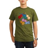 Colorful Double Basses - T-Shirt