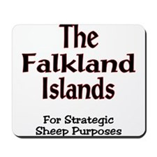 Unique Falkland islands Mousepad