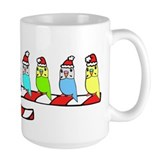 Budgies- Christmas Mug