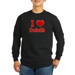 I Love Duluth Long Sleeve Dark T-Shirt