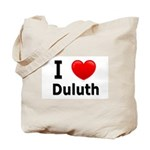 I Love Duluth Tote Bag