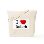 I Love Duluth Tote Bag