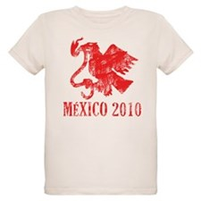 Mexico - Eagle - Red T-Shirt