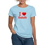 I Love Duluth Women's Light T-Shirt